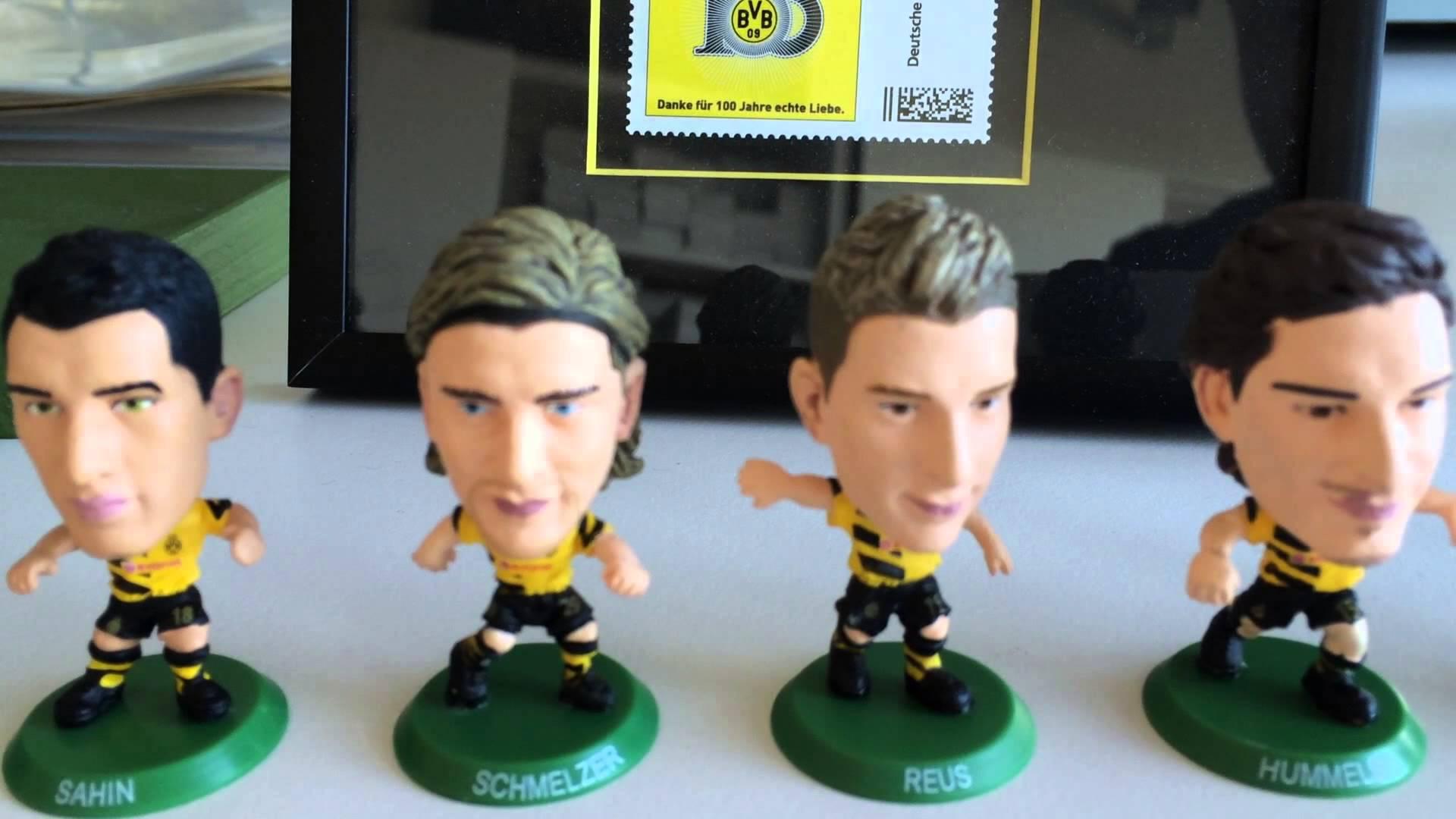 Vorsicht, Suchtgefahr! BVB-Spielerfiguren zum Sammeln | BVB