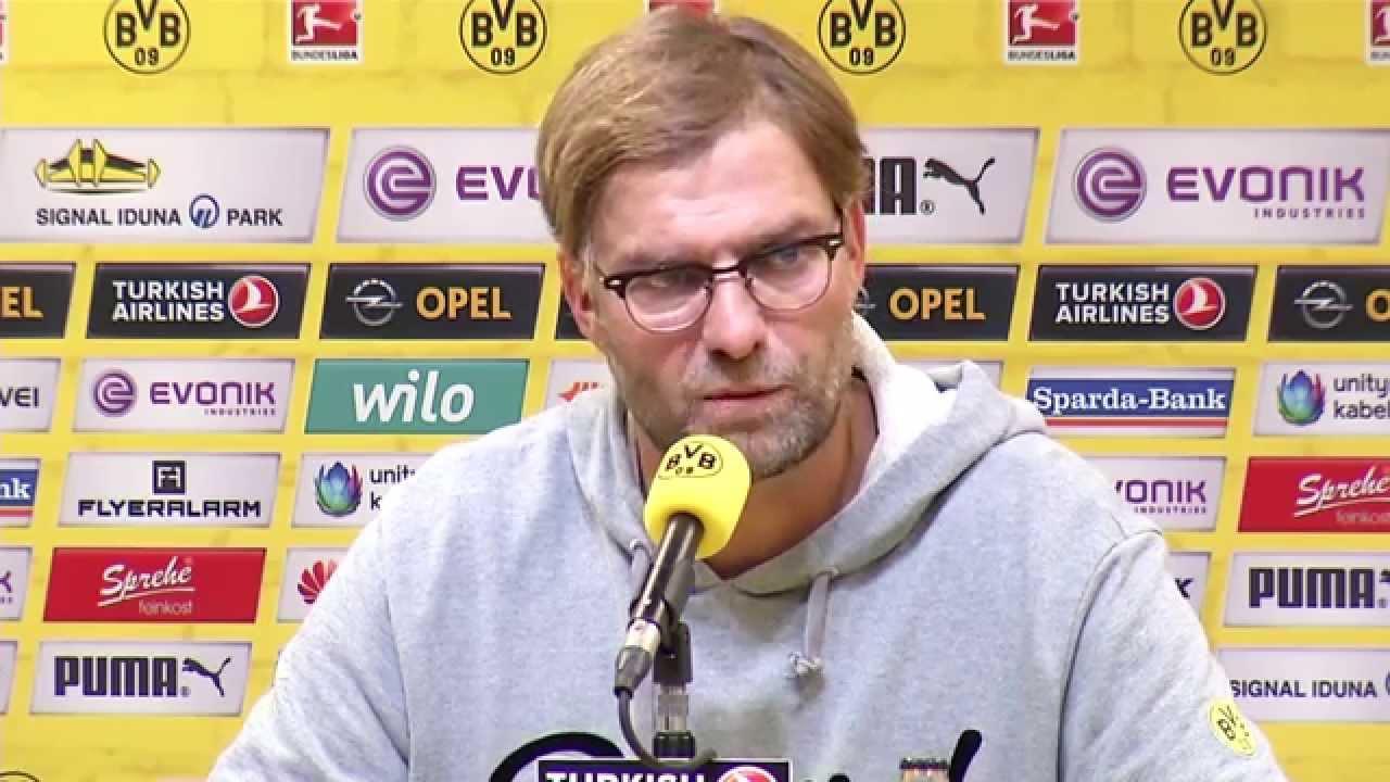 Pressekonferenz: Jürgen Klopp nach dem Spiel BVB - HSV (0:1) | BVB