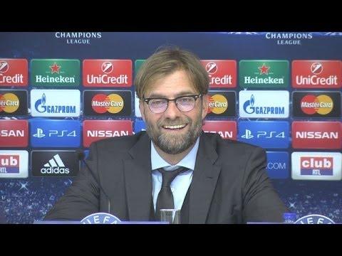 Champions League: Pressekonferenz mit Jürgen Klopp nach RSC Anderlecht - BVB | BVB