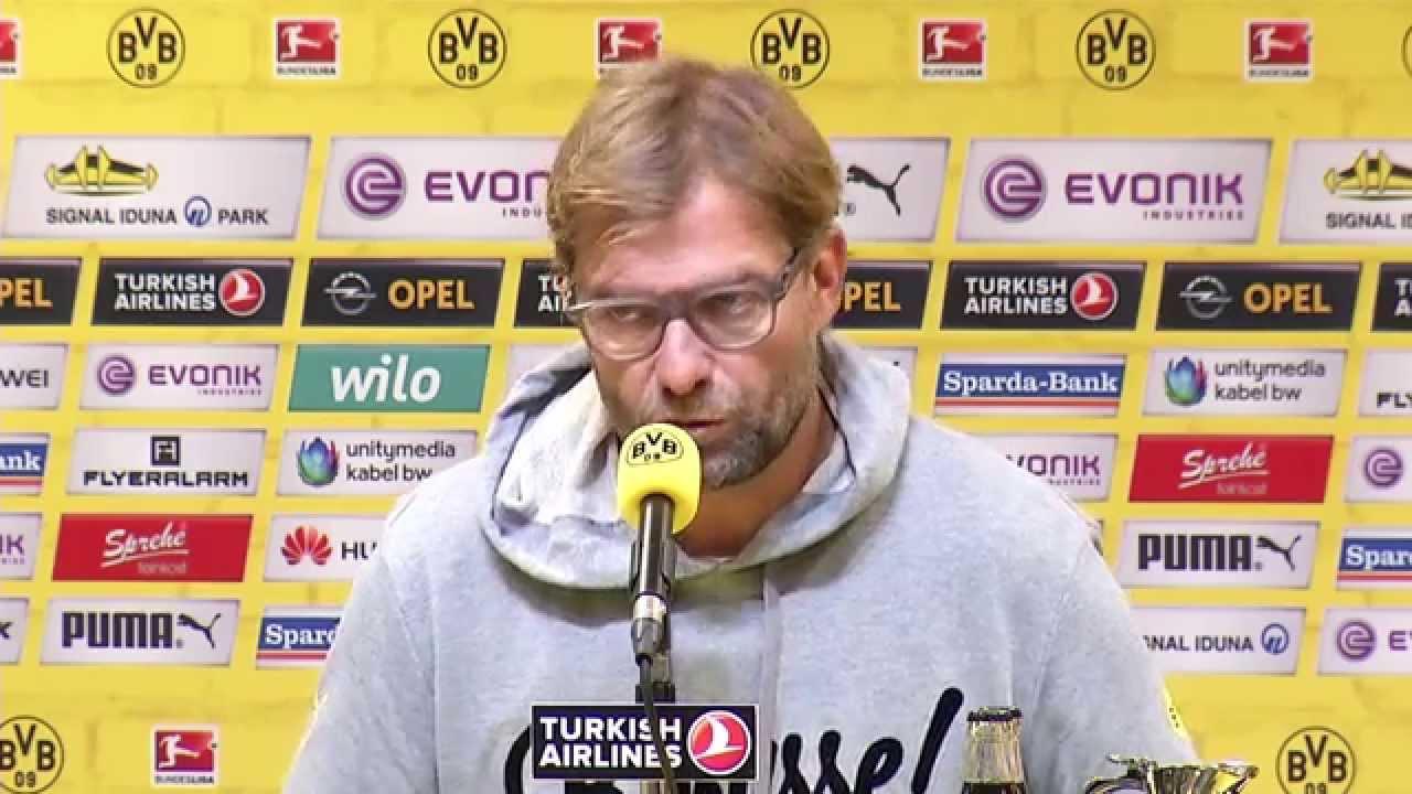 Die Pressekonferenz nach dem Spiel BVB - VfB Stuttgart (2:2) | BVB