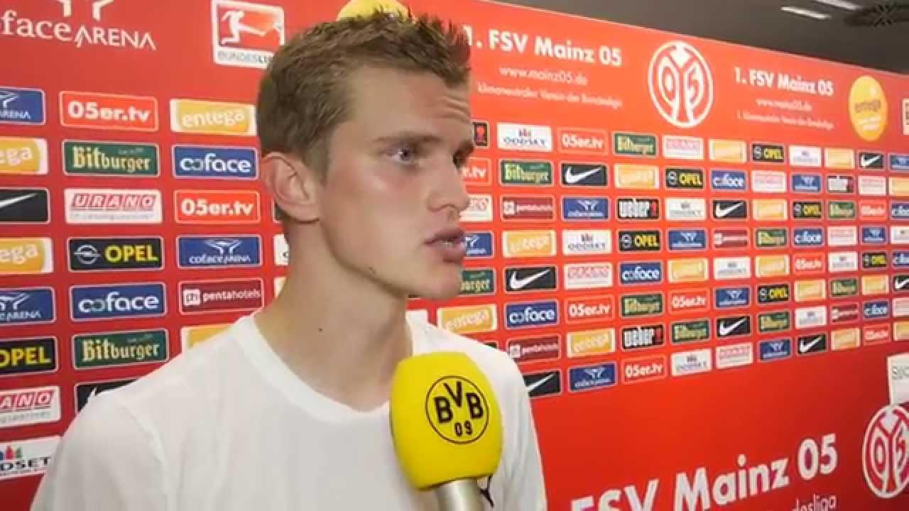 Interview: Sven Bender nach dem Spiel Mainz 05 - BVB (2:0) | BVB