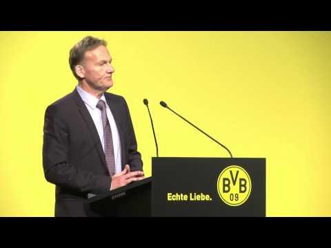 Hauptversammlung 2014: Die Rede von Hans-Joachim Watzke