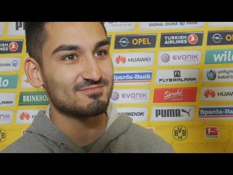 Interview: Torschütze Ilkay Gündogan nach dem 1:0-Sieg über Hoffenheim | BVB