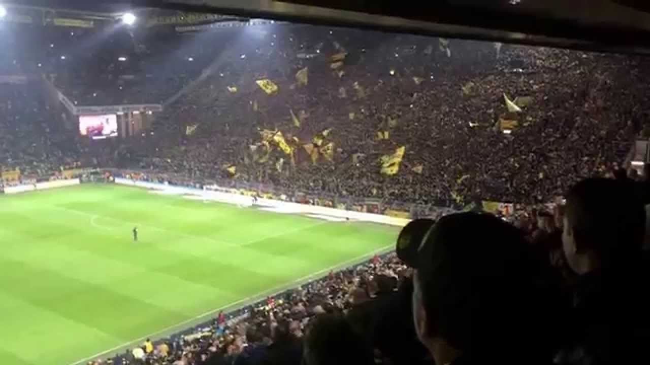 Atmosphere after the home match against Hoffenheim. YES!