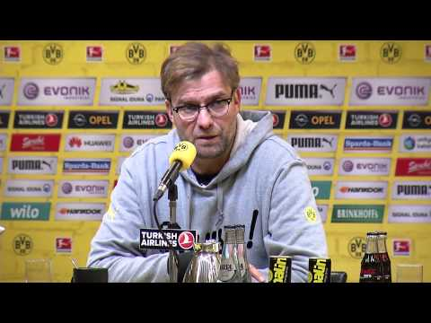 Pressekonferenz: Jürgen Klopp nach dem Heimspiel gegen den VfL Wolfsburg (2:2) | BVB