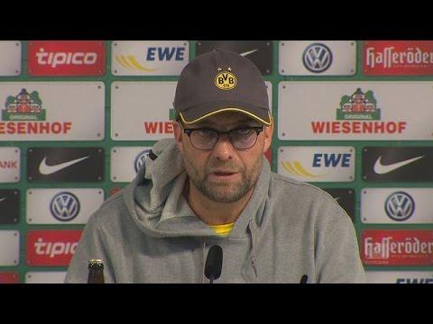 Pressekonferenz: Jürgen Klopp nach der Niederlage bei Werder Bremen (1:2) | BVB