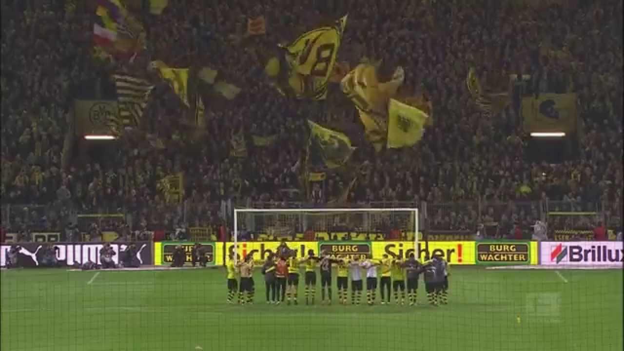"""Jingle Bells"" Südtribüne // Yellow Wall Dortmund | BVB"