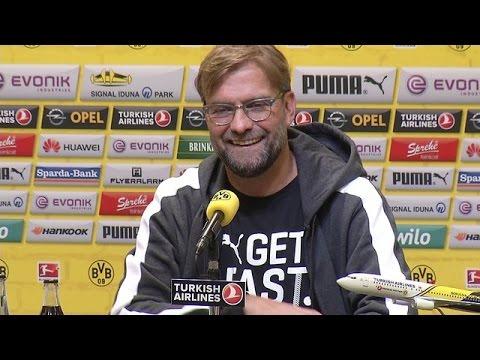 Pressekonferenz: Jürgen Klopp vor dem Heimspiel gegen den FC Augsburg | BVB
